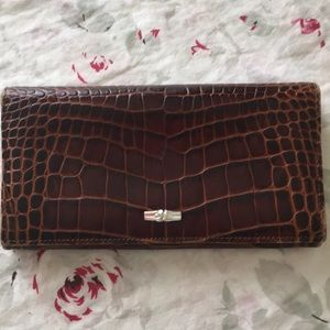 Longchamp ladies clutch wallet